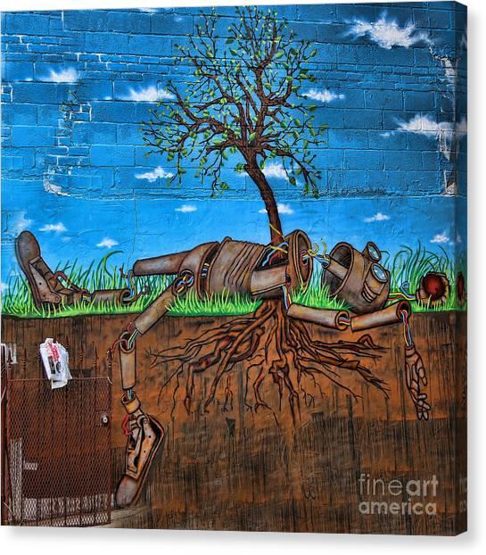 Graffiti Ny Iv Canvas Print