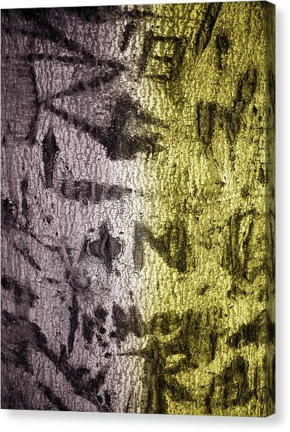 Graffiti Walls Canvas Print - Graffiti 2 by Gilbert Artiaga
