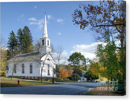 Grafton Church Canvas Print