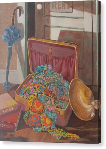 Gram's Treasures Canvas Print
