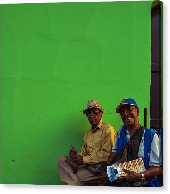 Granada Green Canvas Print