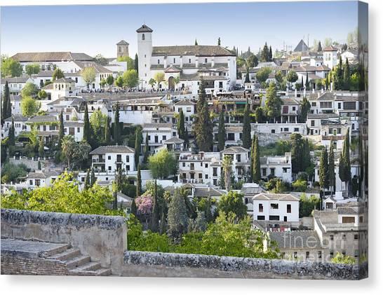 Granada Spain Canvas Print