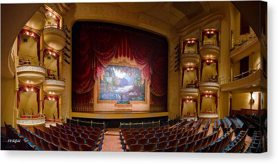 Grand 1894 Opera House - Orchestra Seating Canvas Print