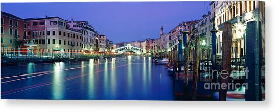 Polo Canvas Print - Grand Canal by Rod McLean