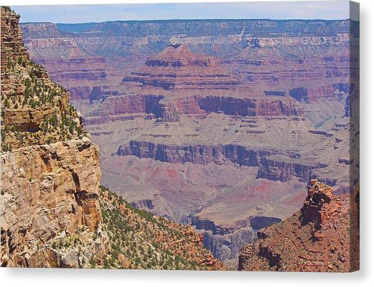 Grand Canyon Canvas Print - Grand Canyon 1 by Eliza Powerlett