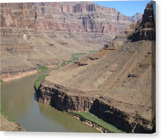 Helicopter Canvas Print - Grand Canyon - 121278 by DC Photographer