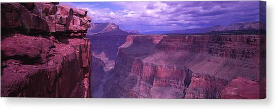 Red Rock Canvas Print - Grand Canyon, Arizona, Usa by Panoramic Images