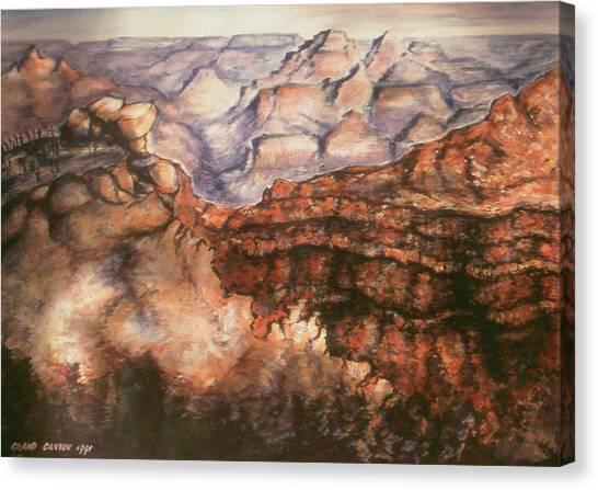 Grand Canyon Arizona - Landscape Art Painting Canvas Print