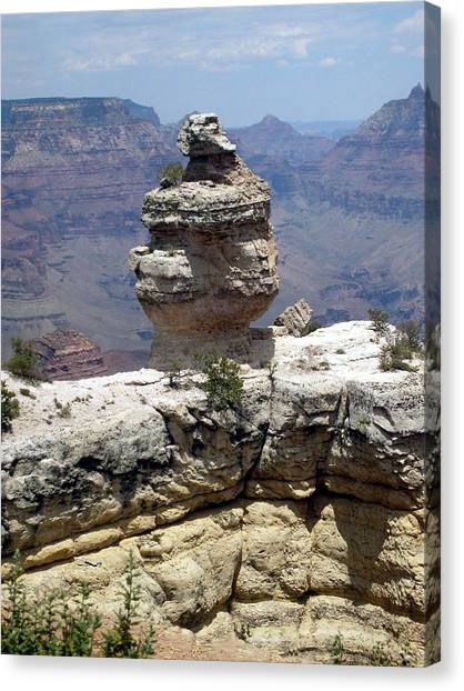 Grand Canyon Bluff Canvas Print