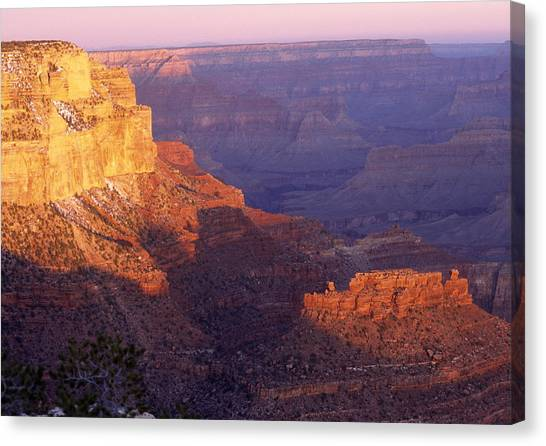 Grand Canyon From The South Rim Canvas Print