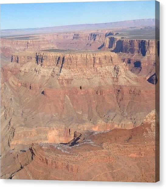 Helicopters Canvas Print - Grand Canyon In A Chopper. Bloody Good by Beth Newman