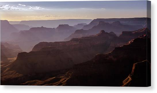 Grand Canyon Mystery Canvas Print