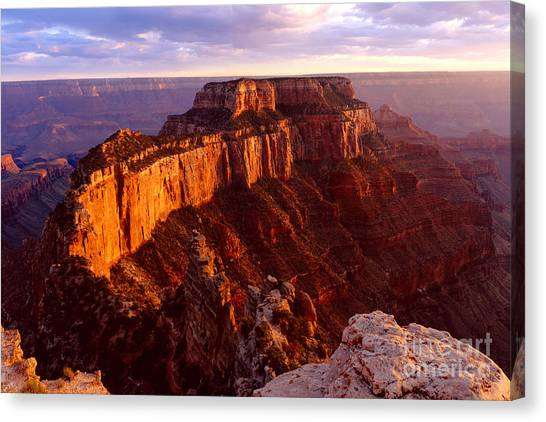 Grand Canyon North Rim Canvas Print