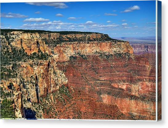 Grand Canyon North Rim Canvas Print by Thomas  Todd
