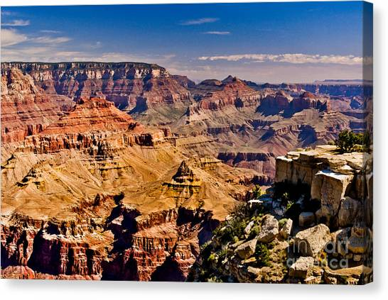 Grand Canyon Painting Canvas Print
