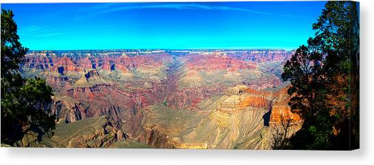Grand Canyon Panorama Canvas Print