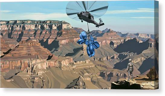 Balloons Canvas Print - Grand Canyon by Scott Listfield