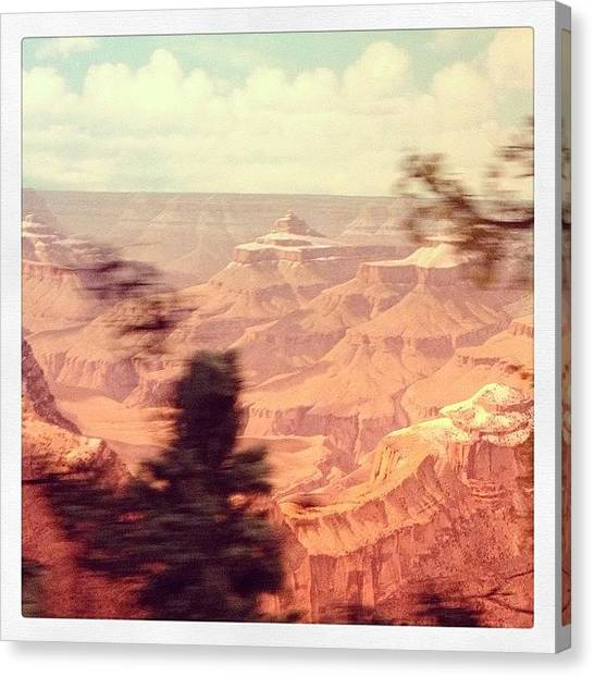 Grand Canyon Canvas Print - Grand Canyon Set by Ryan Hoffman