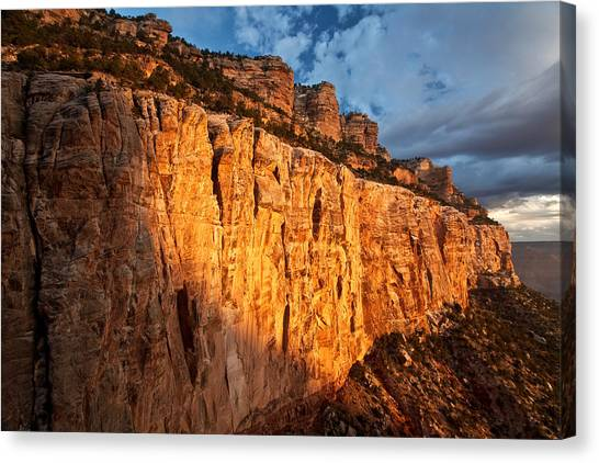 Grand Canyon Sunrise Canvas Print by Kiril Kirkov