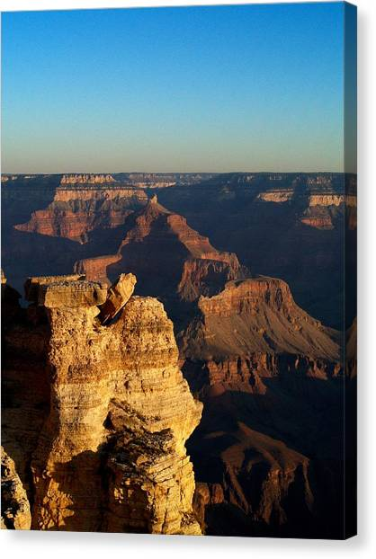 Grand Canyon Sunrise Two Canvas Print