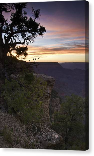 Grand Canyon Sunset 2 Canvas Print