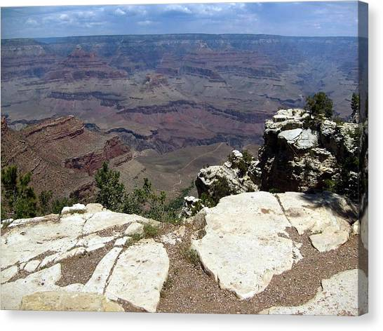 Grand Canyon View 2 Canvas Print