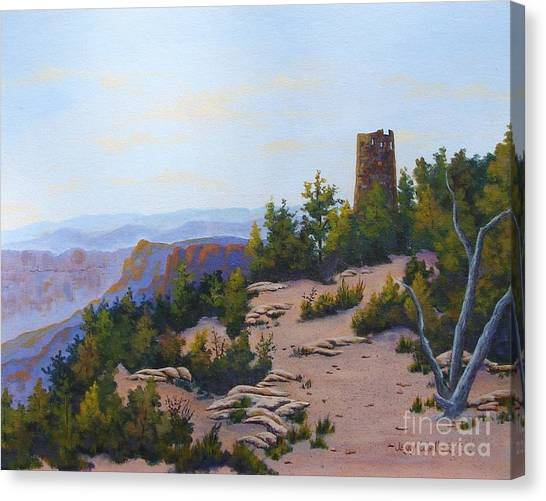 Grand Canyon Watchtower Canvas Print