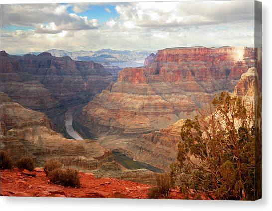 Grand Canyon - West Rim Canvas Print