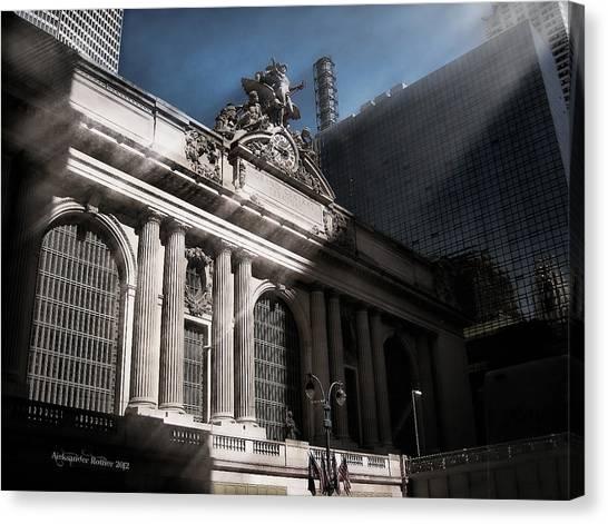 Grand Central #1 Canvas Print
