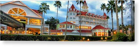 Grand Floridian Resort Walt Disney World Canvas Print