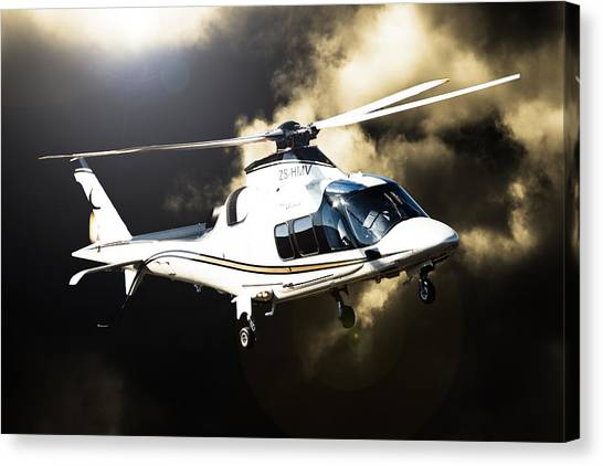 Grand Flying Canvas Print