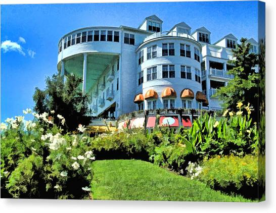 Grand Hotel - Image 002 Canvas Print