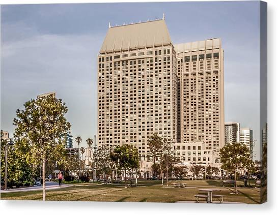 Grand Hyatt San Diego Canvas Print by Photographic Art by Russel Ray Photos