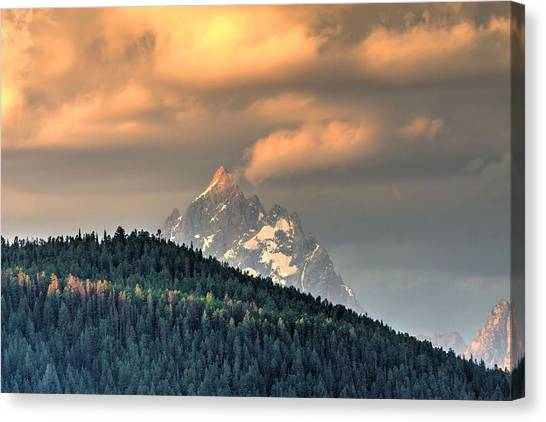 Grand Morning Canvas Print