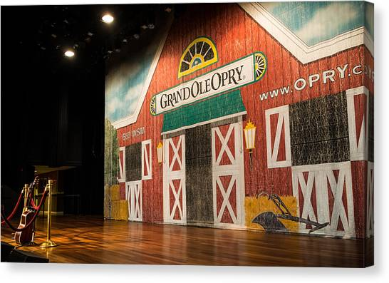 Ryman Grand Ole Opry Canvas Print