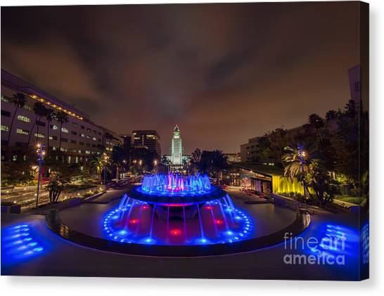 Grand Park Canvas Print by Eddie Yerkish