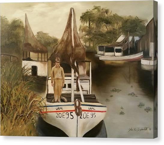 Grand Paw Domangue Canvas Print