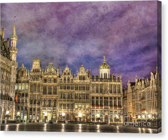 Baroque Art Canvas Print - Grand Place by Juli Scalzi