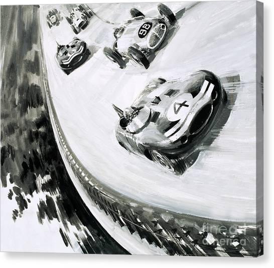 Accelerate Canvas Print - Grand Prix by English School
