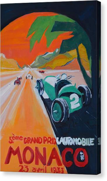 Grand Prix Canvas Print