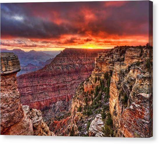 Grand Sunrise Canvas Print