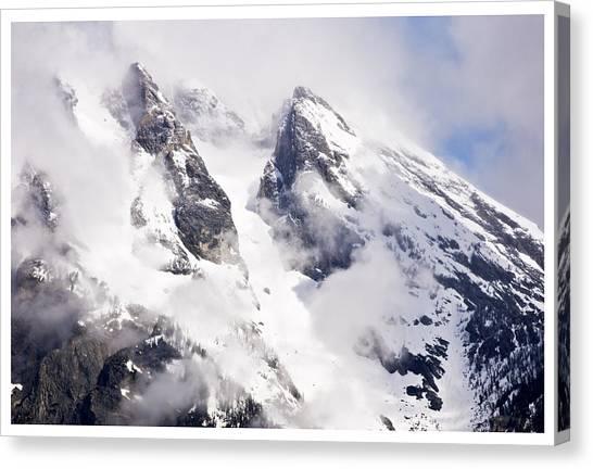 Grand Teton Glacier Canvas Print