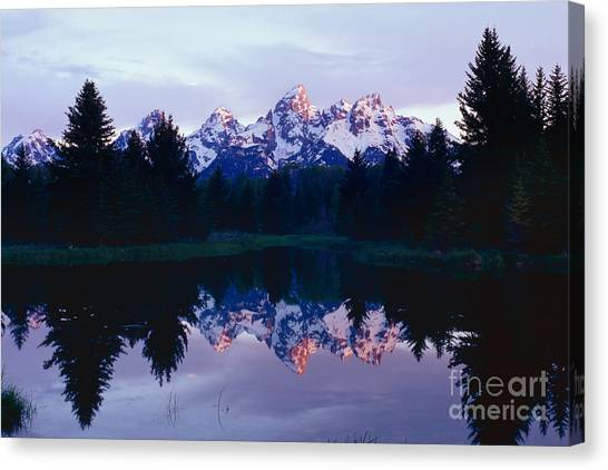 Grand Teton Reflex Canvas Print