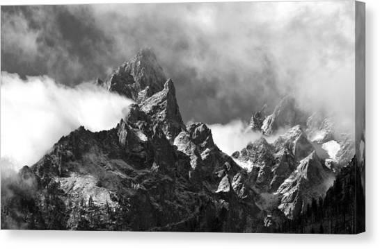 Grand Tetons Canvas Print by Charles Kosina