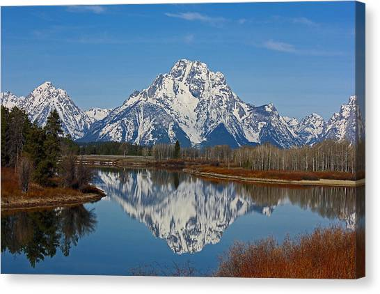 Grand Teton's Canvas Print