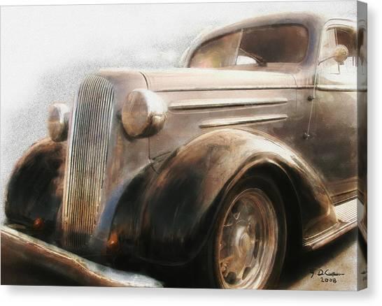 Granddads Classic Car Canvas Print