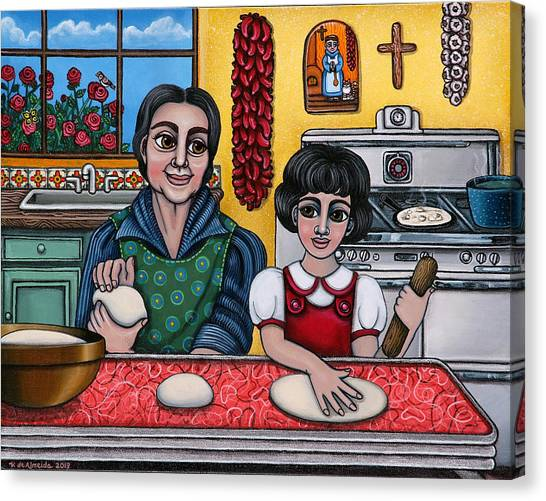 Grandma Canvas Print - Grandma Kate by Victoria De Almeida