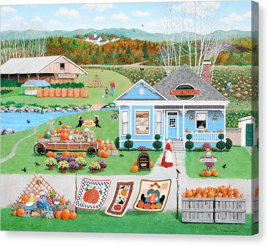 Grandma's Baked Delights Canvas Print