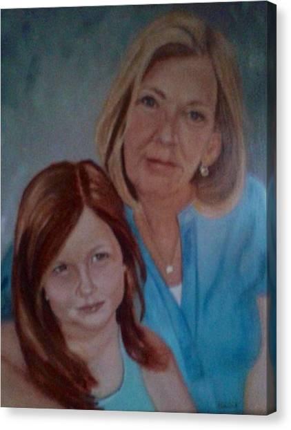 Grandma's Girl Canvas Print