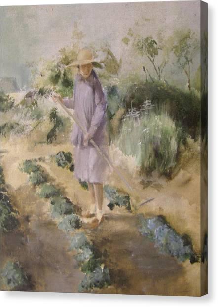 Grandmother Margaret's Garden Canvas Print